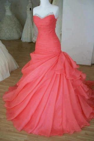 Charming Hot Pink Prom Dress,Sexy Sweetheart Evening Dress,Beading Prom Dress