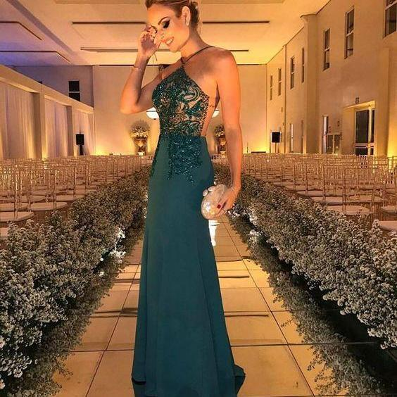 green prom dress,green evening dress,new prom dress,mermaid prom dress,prom dress